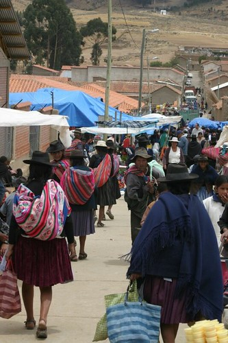 Tarabuco Sunday Market. Bolivia, October 2008