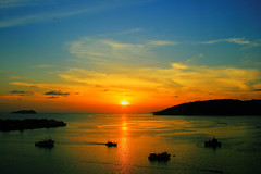 Here in My Home (Dolly MJ) Tags: sunset sky sun color kotakinabalu redsky sabah kk beautifulsunset colorfulclouds dollymj kotakinabalusunset sabahsunset borneosunset beautifulkk