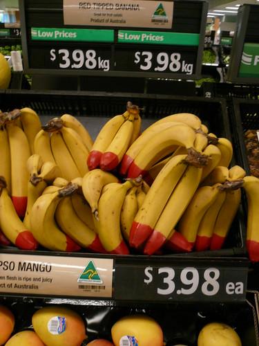 blog voyage australie sydney whv backpacker travel banane supermarché