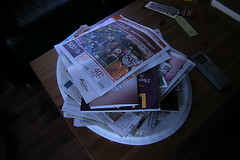 magazines and more papers
