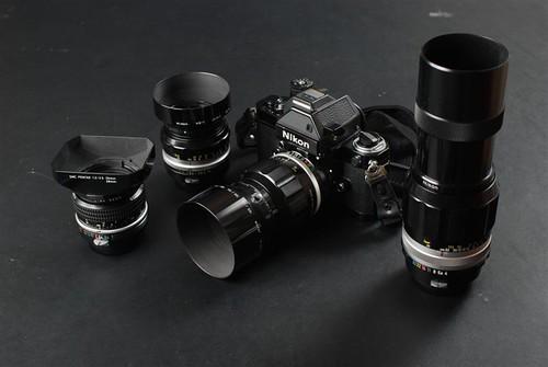 Nikon 35mm Film Gear