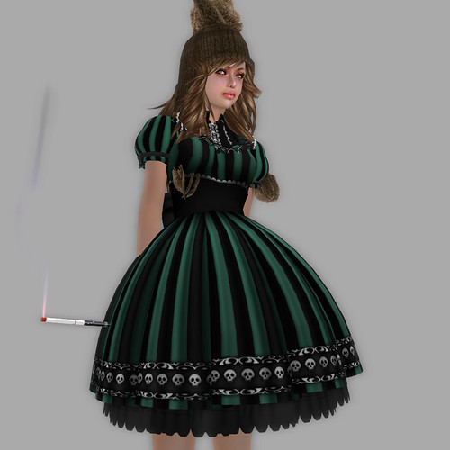katat0nik Striped Dollie Dress07