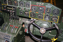 20081019_1192 B24 Co-pilots Instrument Panel (williewonker) Tags: aircraft australia victoria restoration bomber nationaltrust liberator raaf b24 werribee a72 a72176
