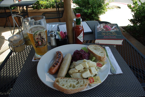 Weissbier, brats and Scalzi