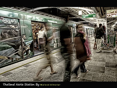 NaNa Station Ghosts ( Bangkok ) (Waleed Almotar) Tags: travel people station thailand bangkok ghost olympus nana e3 zuiko waleed trane     1442    almotar