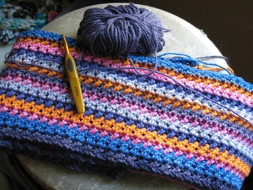 X Stitch Afghan