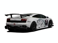Lamborghini Blancpain Super Trofeo whie pics