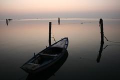 acque calme... (Blue Spirit - heart took control) Tags: sunset water reflections seaside venezia veneto explored pellestrina artofimages bestcaptureaoi scattifotografici