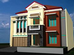 Desain Rumah Duren-Sawit-1 by Indograha Arsitama by Indograha Arsitama Desain & Build