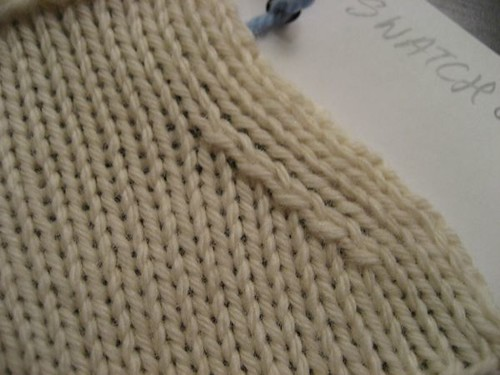 Master Knitting Level 1 Swatch 8