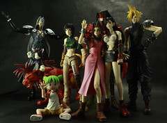 Yotsuba & FF7