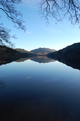 Loch Eck (RS Pictures) Tags: autumn reflection reflections mirror scotland flat image argyll calm loch reflexions eck cowal