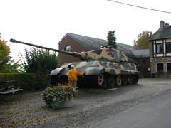 The Royal Tiger Tank at La Gleize (Dog Company) Tags: 2 la tank tiger royal battle battlefield bulge battlefields gleize peiper