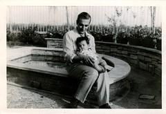 In braccio a papà
