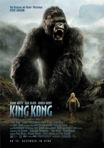 King Kong (2005) - Movie Poster 01
