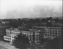 Aerial View of Terrell Hall