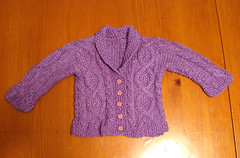 Trellis Baby Sweater