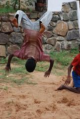 Kids at play (junglejim67) Tags: india playing kids jump nikon flip chennai dakshinchitra d80 nikond80
