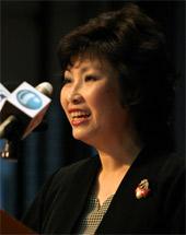 ACJC Principal, Kelyvna Chan