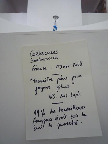 Guillaume Dimanche - Corkscrew gouvernemental 5 par vous