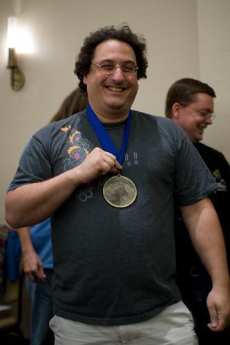 Zev wins geeky