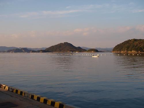 Honmura port