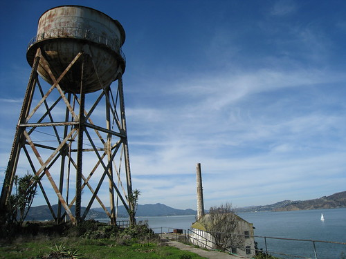 Alcatraz Island - Water Tower
