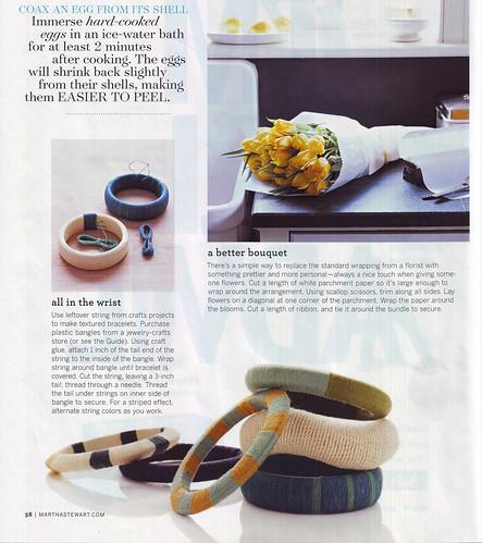 diy: string bracelets