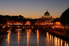 Rome - S. Pietro at sunset
