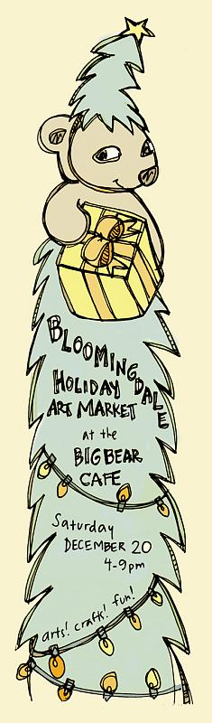 Big Bear Holiday Market Flyer