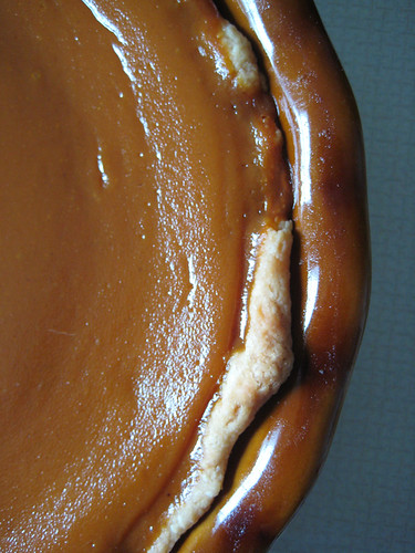 Pumpkin Pie Close-up