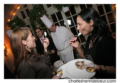 20081117_lgd_chd_115.jpg (charleshenridebeur) Tags: food canada art cooking photo cafe pain wine quebec montreal tableau cooks qc sofitel bouffe agnusdei pastis saq chocolat vins gastronomie gastronomy catering chefs traiteur ilestehelene victordiaz cuisinier evenement premieremoisson helenedechamplain sucreriedelamontagne oenologue maisoncakao charleshenridebeur 17novembre2008 lancementguidedebeur2009 guidedebeur fineprodcuts produitsfins thierrydebeur huguetteberaud soeurangele renedelbuguet confreriedesvigneronsdestvincent pierrefaucher stephanefaucher edithgagnon isabellehuot ricardcanada fatimahoudapepin neolfourcroy globalwinesandspirits chefdelannee restaurantdelannee