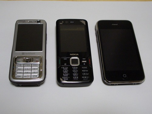 Nokia and iPhone 3G