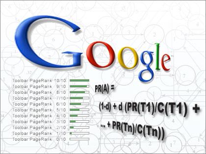 Google PageRank formule