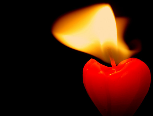 Burning Heart, by Roger Quayle