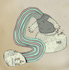 _ (pearpicker.) Tags: illustration beard drawing longneck ugly metamorphosis