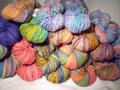 Custom Spun Yarn 4oz slot