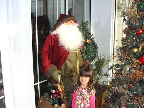 Mina and Santa