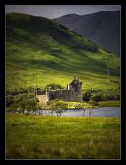 Castle at the head of Loch Awe near Dalmally Scotland (Samantha Nicol Art Photography) Tags: uk tree green castle landscape scotland nikon pylon hills samantha lochawe dalmally nicol kilchurn supershot anawesomeshot ysplix amazingamateur theunforgettablepictures overtheexcellence damniwishidtakenthat sammikins1976 samanthanicolartphotography