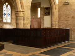 Box Pew St. Mary - Fawsley