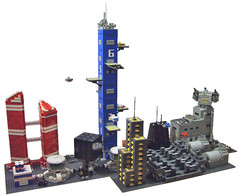Skunk Base Alpha (S.L.Y) Tags: lego micro moonbase
