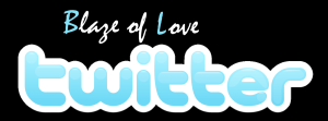 Follow Blaze of Love on Twitter!