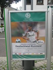 Fußball-Länderspiel der Frauen: Deutschland vs. Russland