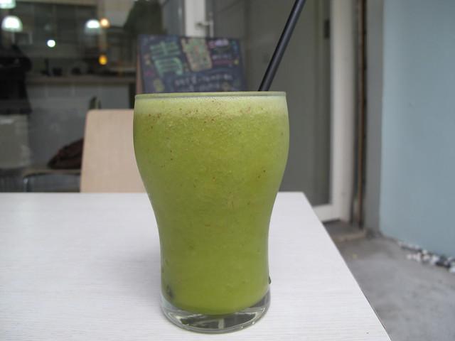 綠色原野蔬菜汁