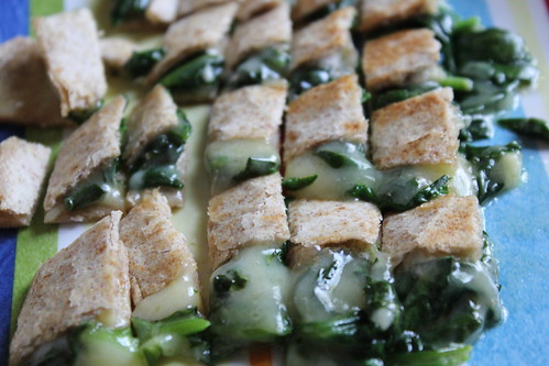 Spinach Cheese Quesadillas
