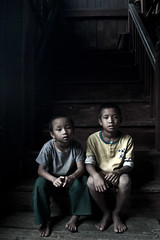 Myanmar | Inlay Lake | Boys at the Monastery (Walker Travels) Tags: lake boys asia burma monastery walker myanmar southeast edson | inlay birmnia