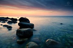 Baltic Stones (Dietrich Bojko Photographie) Tags: morning seascape stone landscape stones balticsea baltic filter rgen landschaft ostsee morgen hitech kreidekste jasmund jasmundnationalpark dietrichbojko d7000 hitechreverse dietrichbojkophotographie