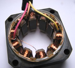 5-wire stepper motor stator