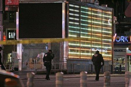 APTOPIX Times Square Blast