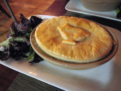 Chicken pot pie, The Green Table